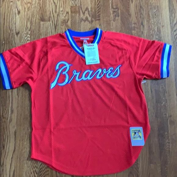 hot sale online 08f32 db3f1 Atlanta Braves Dale Murphy Retro Jersey NWT